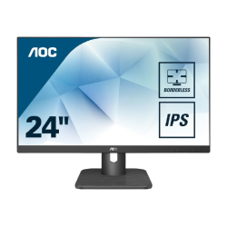 "AOC23.8""LED-24E1Q LED Monitor with VGA Port, HDMI Port"