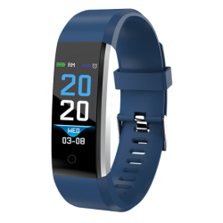 Fitnessband with heartrate monitor & colour display