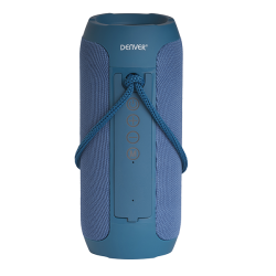 Bluetooth speaker with built-in rechargeable battery DENVER-BTS-110BLUE