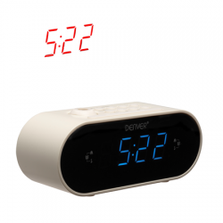CLOCKRADIO Denver CRP-717 WHITE CLOCKRADIO