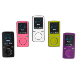 "MP4 player, Video, Photo, Music, MicroSD card slot, 1.8"" screen"